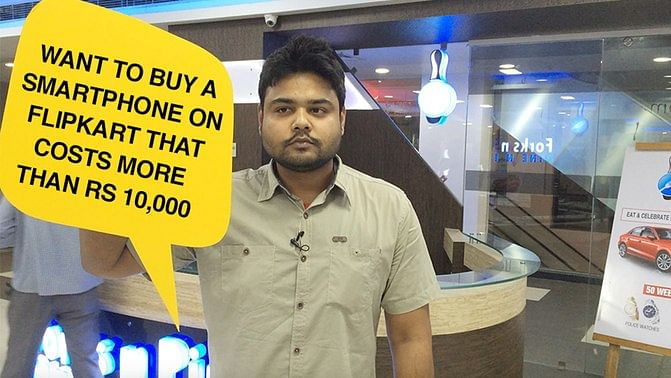 """""""I cannot do online shopping for more than Rs 10,000 because the state government imposes a sales tax that online retailers are understandably not ready to pay"""", says Kislay Khan who owns Bihar's first bowling alley Forks &amp; Pins in Patna. (Photo: <b>The Quint)&nbsp;</b>"""