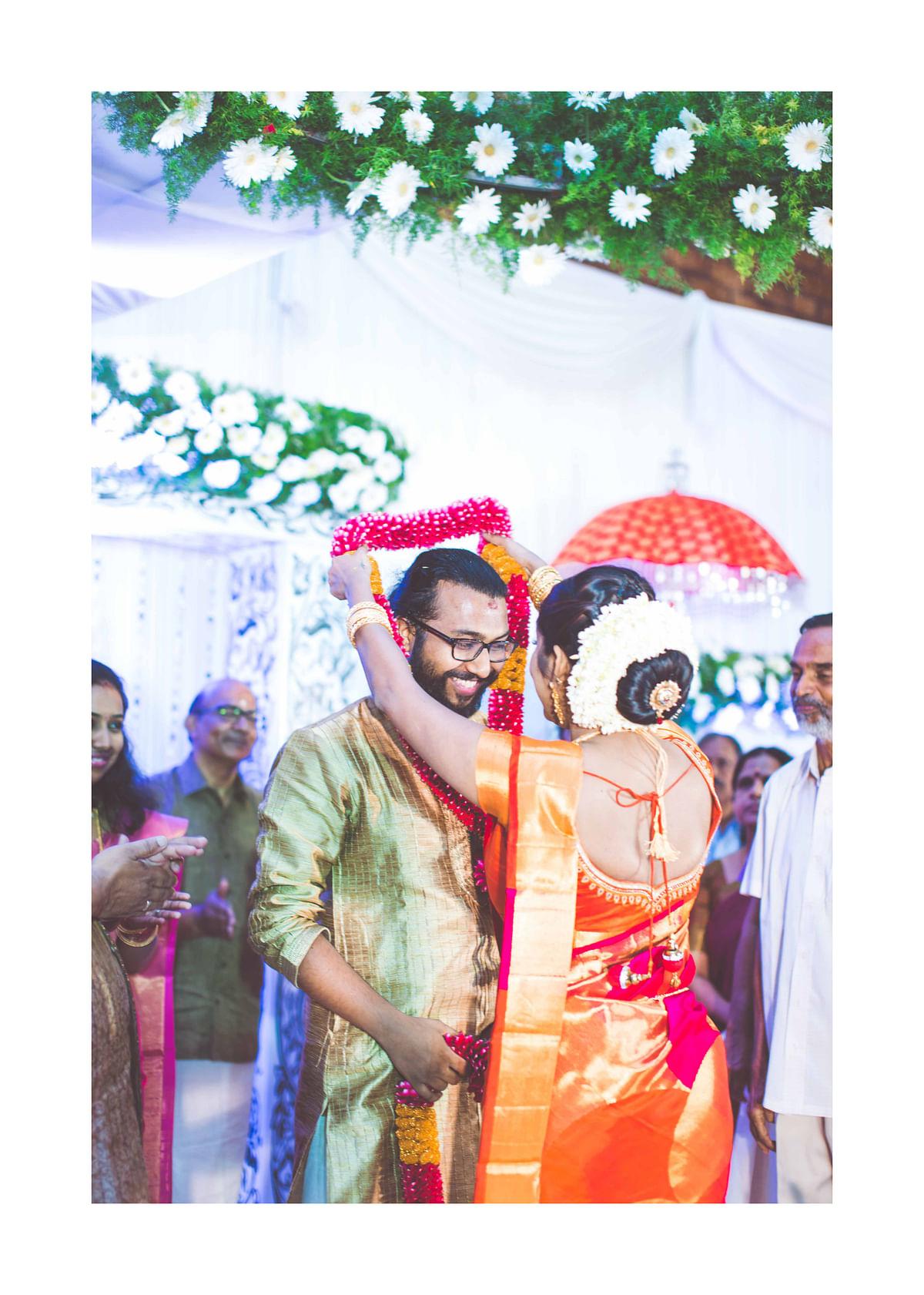 Vineeth Padiyath and Aswani Yatheendran. (Photo Courtesy: Elvin Jacob)