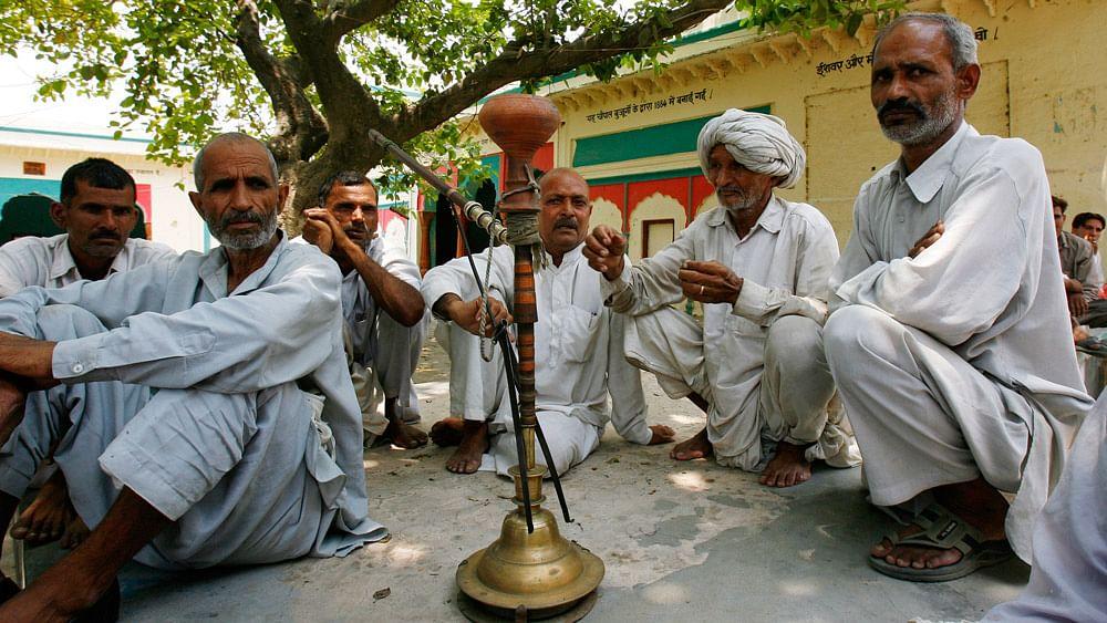 Village elders participating in a village council or panchayat meet. (File Photo: Reuters)