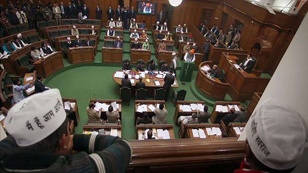 The winter session of Delhi Assembly started on November 18. (Photo: PTI)
