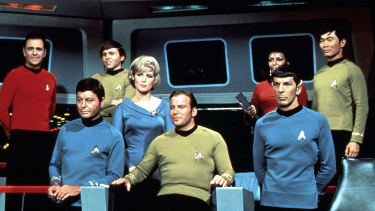 The original Star Trek cast.