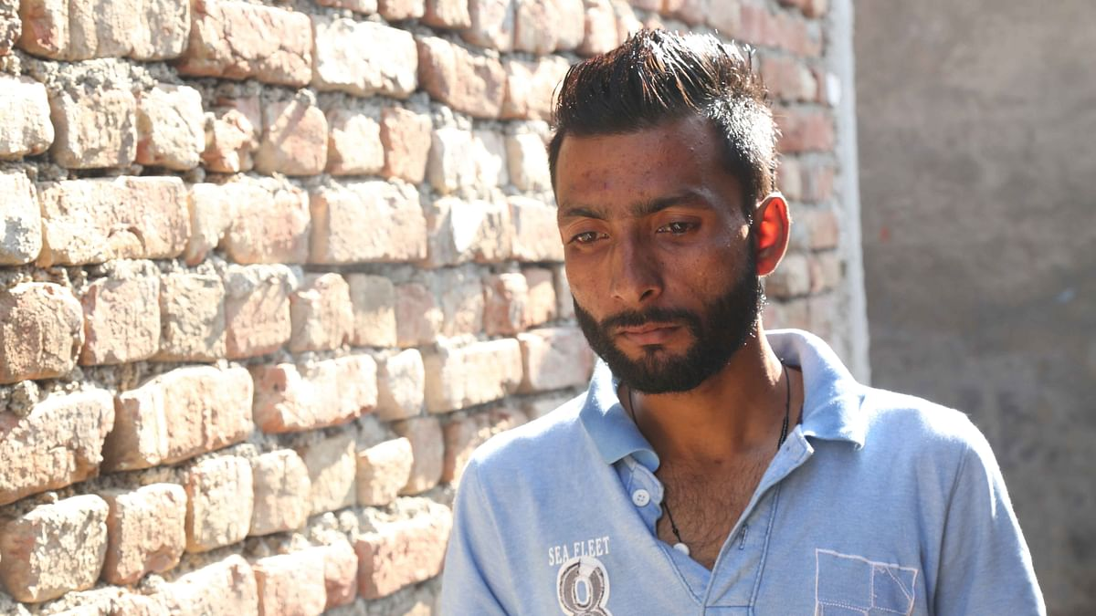 Harjit Masih is the only one who has returned to India out of 40 Indians kidnapped by the ISIS in June 2014. (Photo: Siddharth Safaya/<b>The Quint</b>)&nbsp;