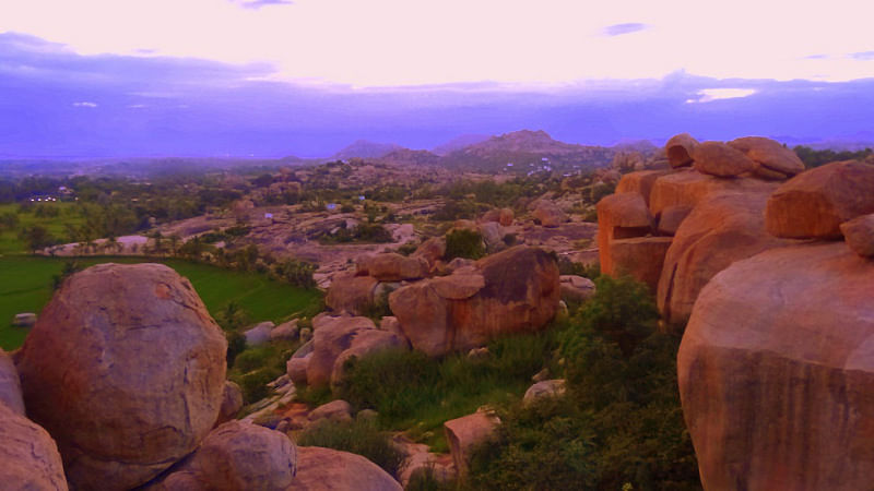 Hampi's awesome boulders. (Photo Courtesy: Sonal Kwatra Paladini/Drifter Planet)