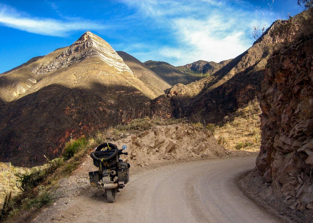 Cloud forest route between Chachapoyas and Cajamarca, northern Peru. (Photo Courtesy: Jay Kannaiyan)
