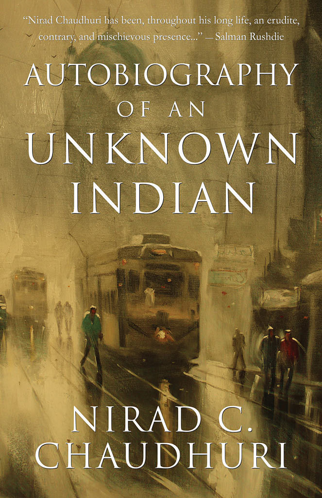 Cover of the <i>Autobiography of an Unknown Indian</i>.&nbsp;