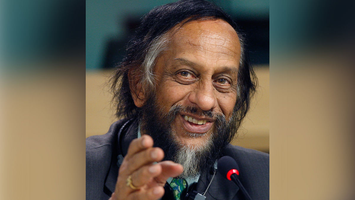 RK Pachauri, the Director General of The Energy and Resource Institute (Photo Reuters)