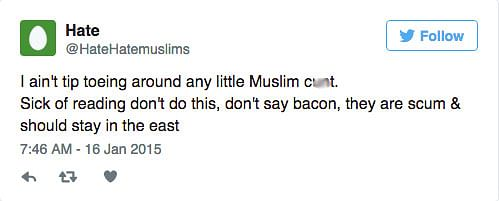 (Photo: Twitter/@HateHatemuslims)