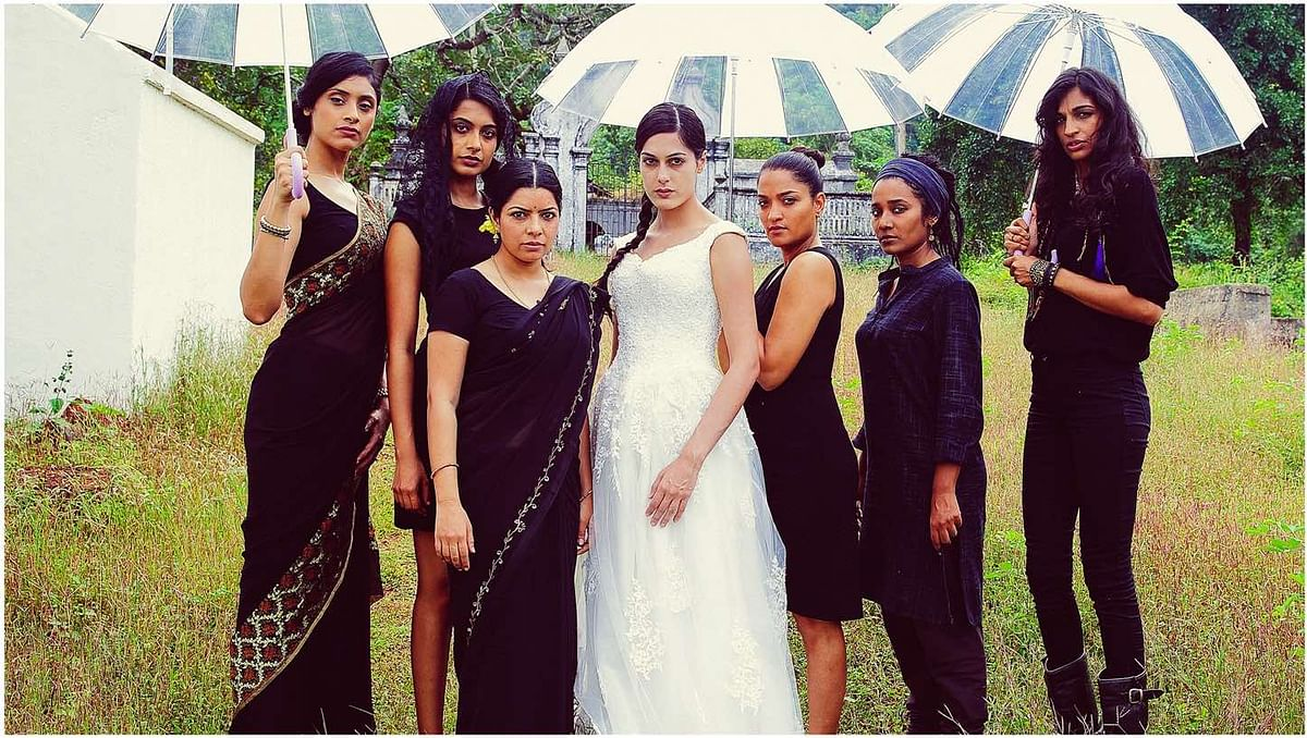 A publicity still from <i>Angry Indian Goddesses</i>