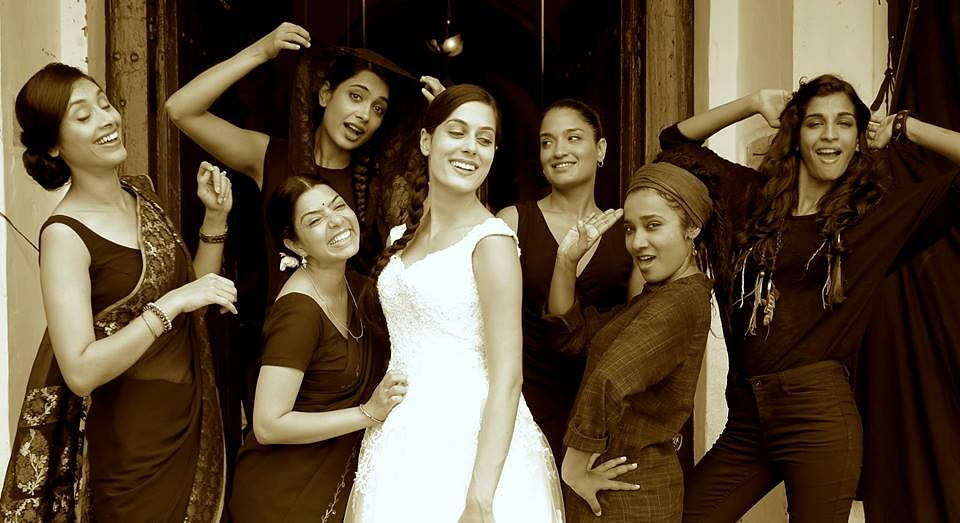 A still from <i>Angry Indian Goddesses</i>