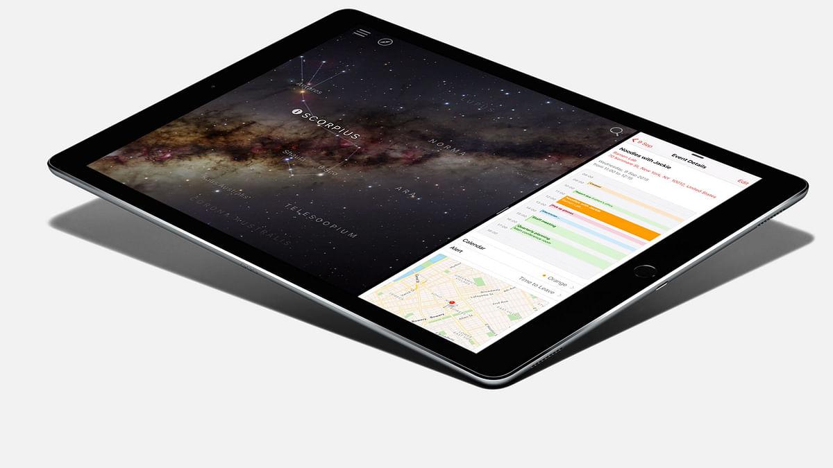 Apple iPad Pro. (Photo: Apple)
