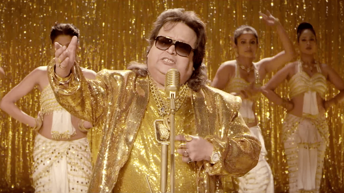 Here's wishing Bappi Lahiri a blingy happy birthday