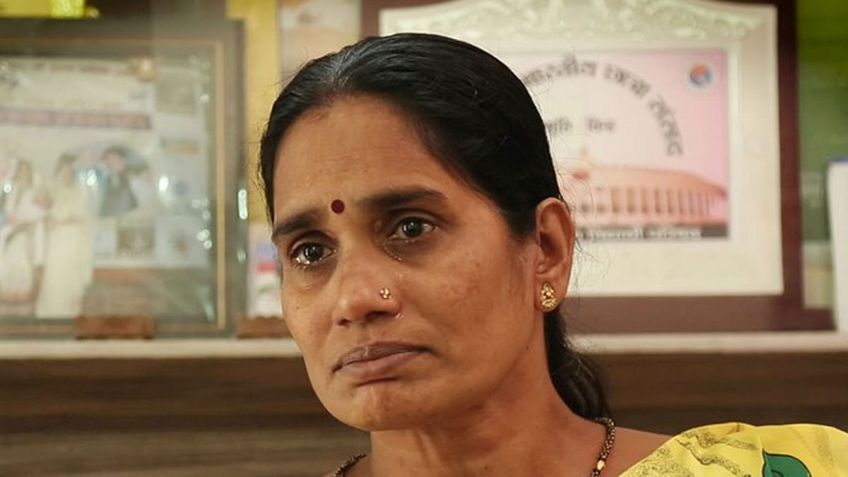Nirbhaya's mother breaks down while talking to <b>The Quint</b>. (Photo: The Quint)