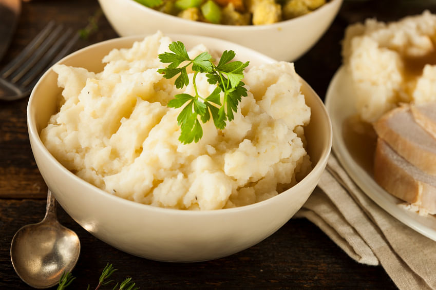 Mashed potatoes are an all-time favourite. (Photo: iStock)