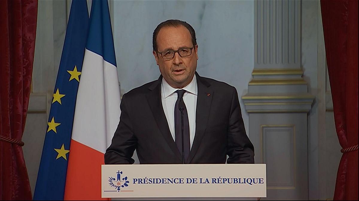 French President Francois Hollande. (Photo: AP)