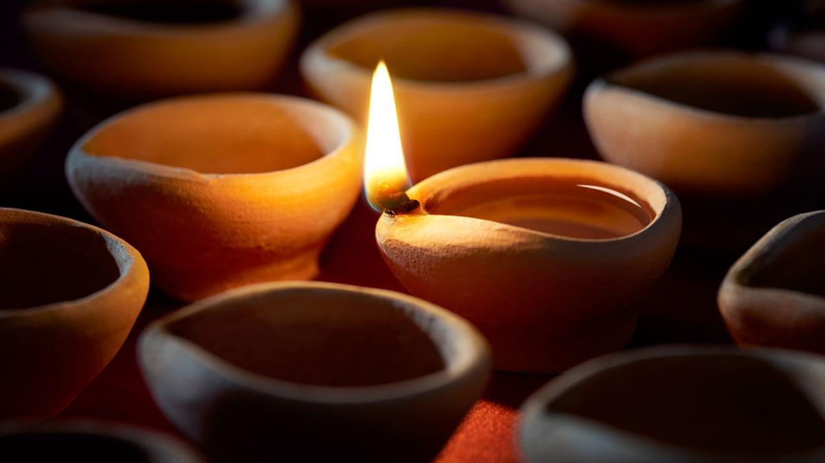 My 'Anna' didn't have a real Diwali this year. (Photo Courtesy: Sangeeta Murthi Sahgal)
