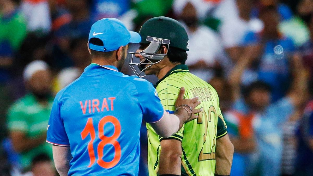 India last played Pakistan at the ICC World Cup earlier this year. (Photo: AP)