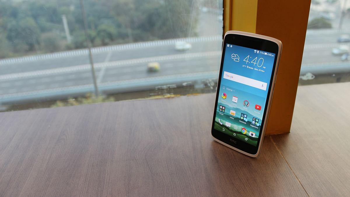 The HTC Desire 828. (Photo: <b>The Quint</b>)
