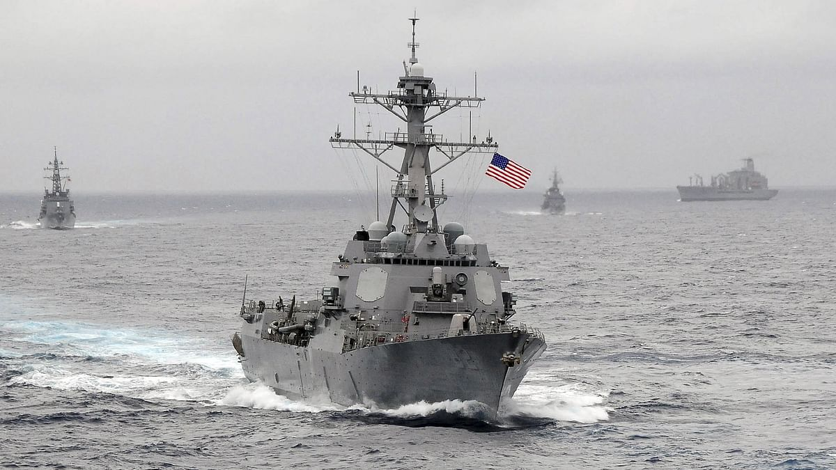 US Navy guided-missile destroyer USS Lassen sails in the Pacific Ocean in a November 2009 photo provided by the US Navy. (Photo: Reuters)