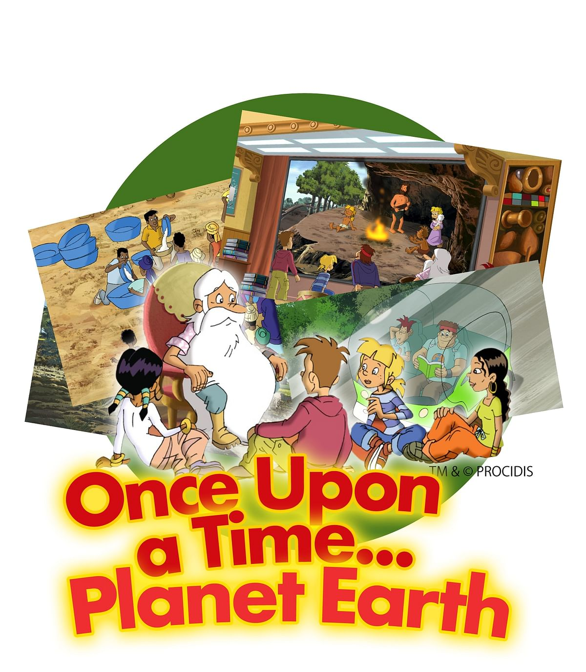 One of DVL's launch properties: <i>Once upon a time… Planet Earth. </i>