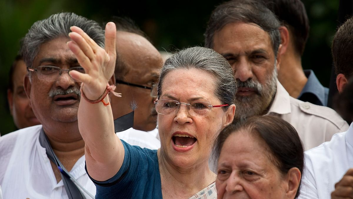 Congress President Sonia Gandhi. (Photo: AP)