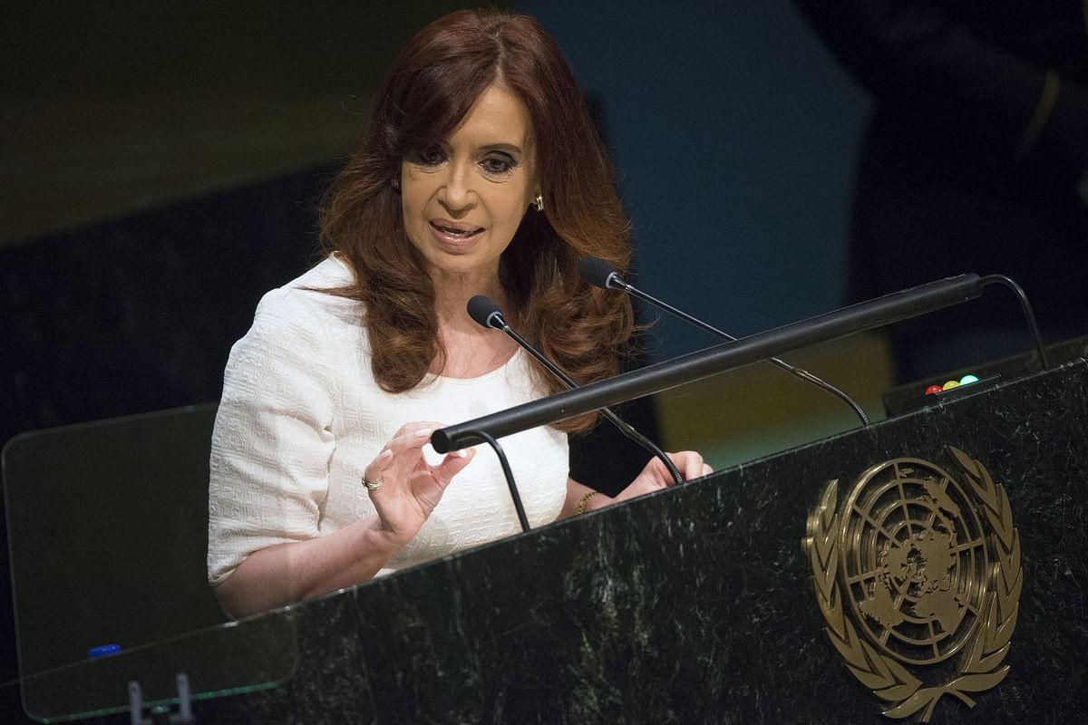 Christina Fernandez de Kirchner (Photo: Retuers)