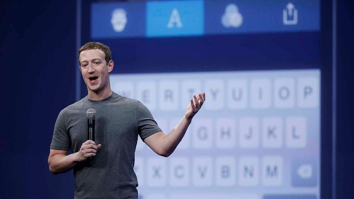 Mark Zuckerberg talks in a conference at San Francisco. (Photo: AP)