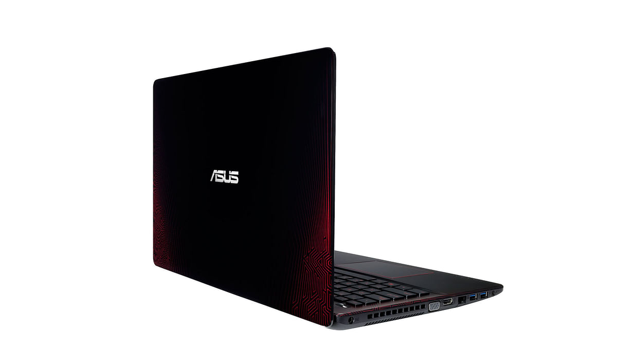 Asus R510JX Gaming Notebook. (Photo Courtesy: Asus)