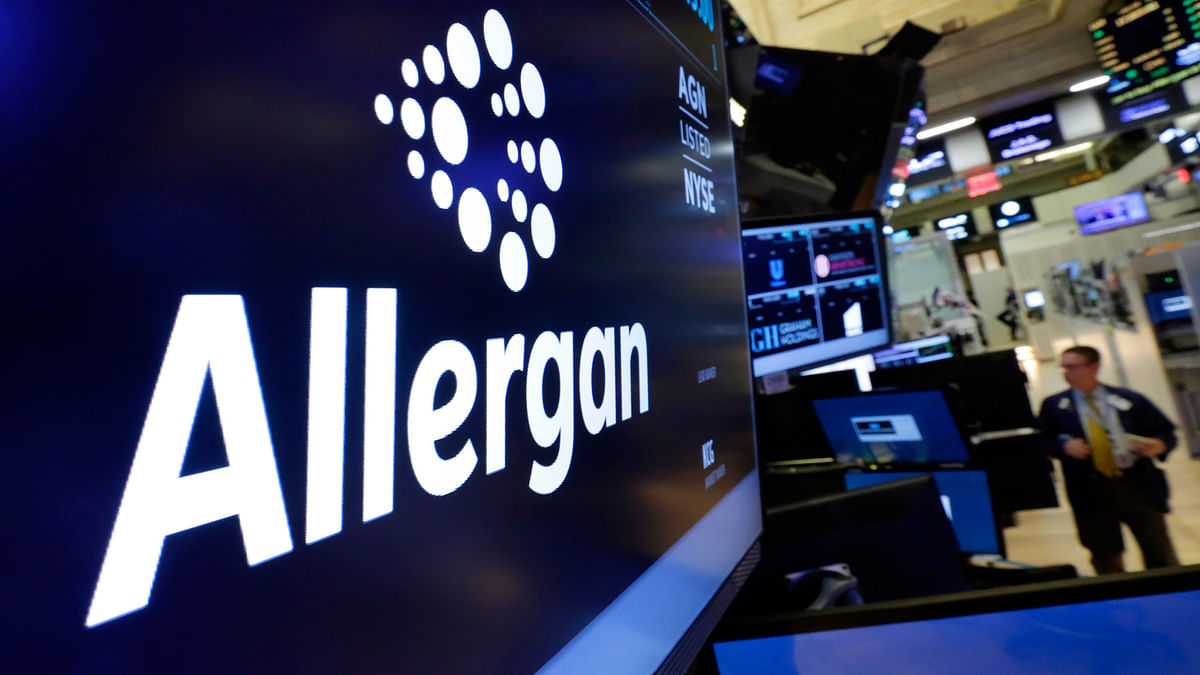 To avoid potential restrictions, the transaction was technically structured as smaller Dublin-based Allergan buying Pfizer.(Photo: AP)