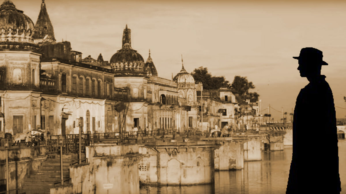 Franz Kafka comes to Ayodhya in Zafar Anjum's <i>Kafka in Ayodhya. (</i>Photo: The Quint)