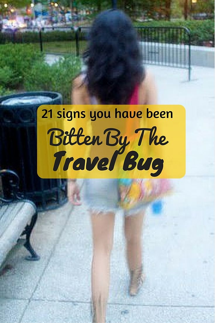 There's no cure to the travel bug! (Photo Courtesy: Sonal Kwatra Paladini/Drifter Planet)