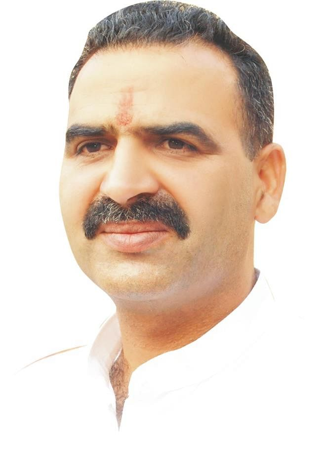 "Minister of State for Agriculture Sanjeev Kumar Balyan. (Photo: <a href=""http://www.bjp.org/know-your-candidate/candidate/dr-sanjeev-balyan"">BJP website) </a>"
