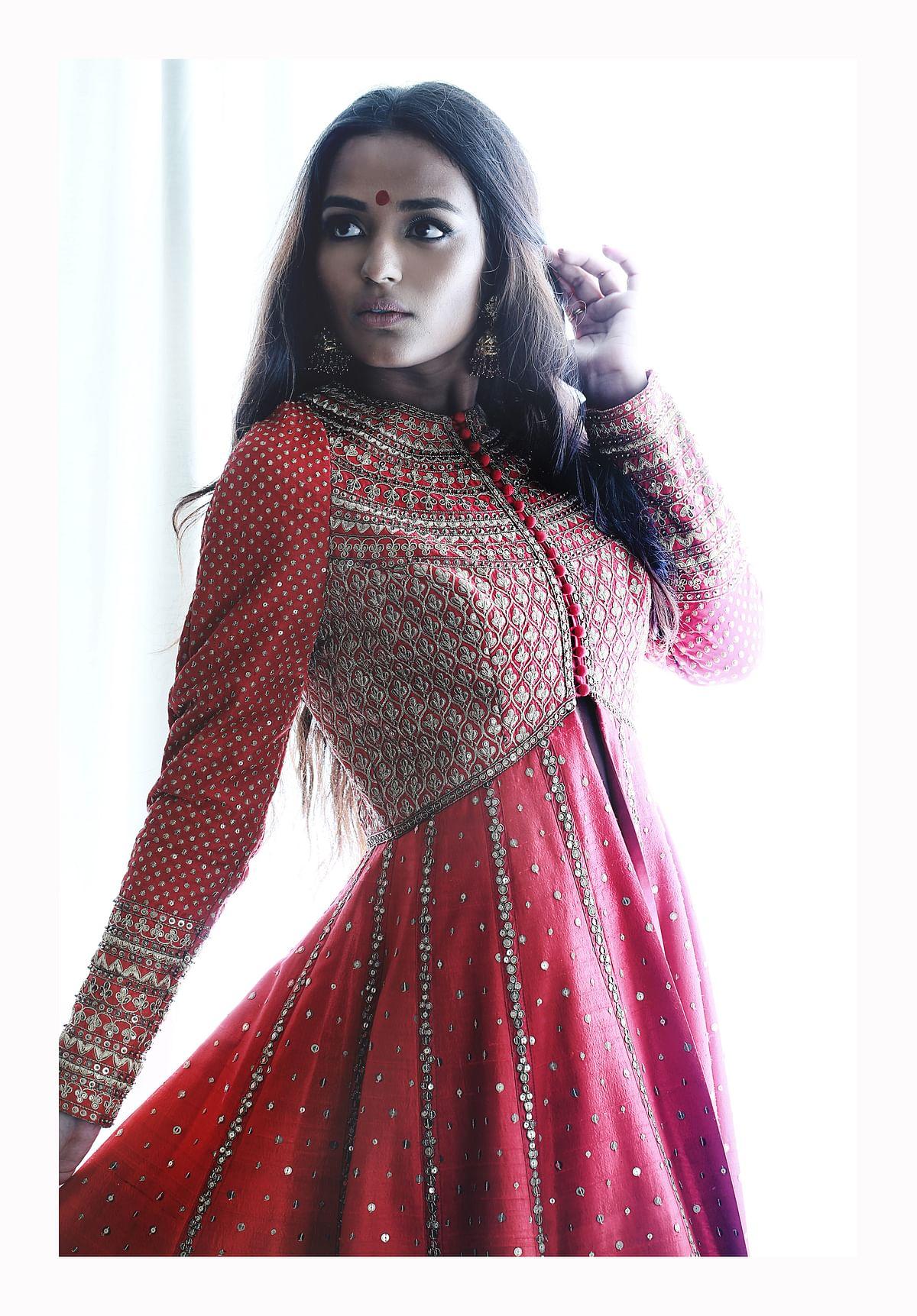 Pure raw silk jacket by designer Vani Vats. (Photo Courtesy: Vani Vats)