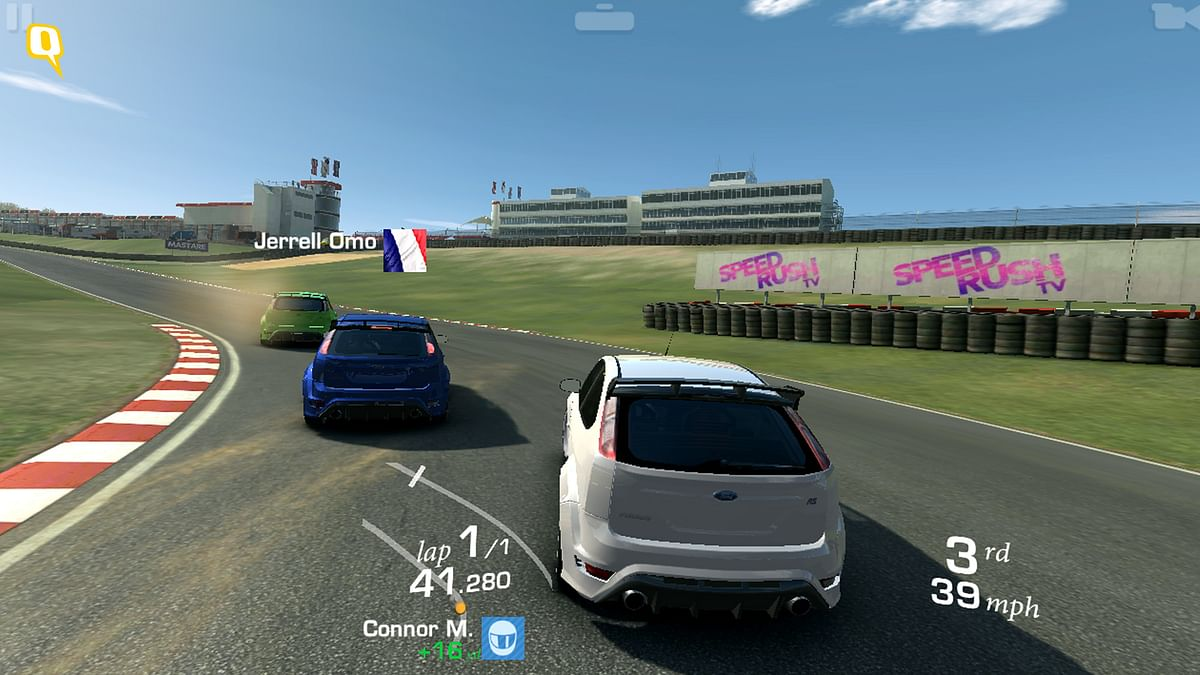 EA Real Racing 3 on HTC Desire 728G (Photo: <b>The Quint</b>)