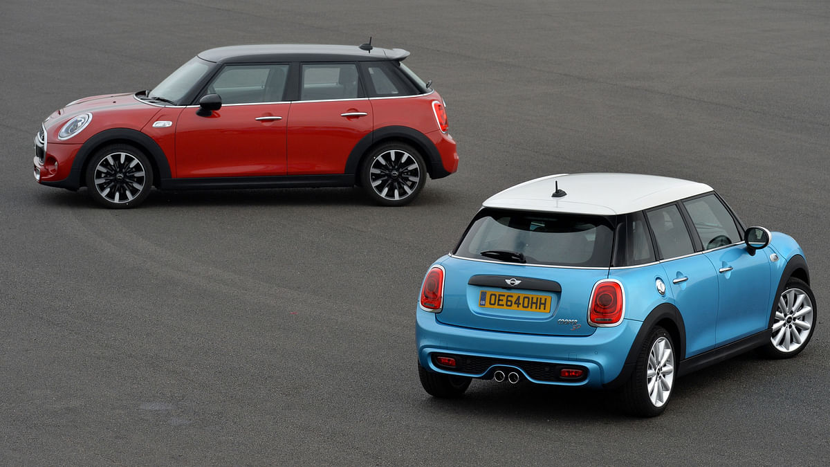 The MINI Cooper S. (Photo: MINI)