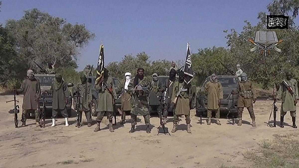 File photo of Boko Haram terrorists of Nigeria. (Photo: PTI)