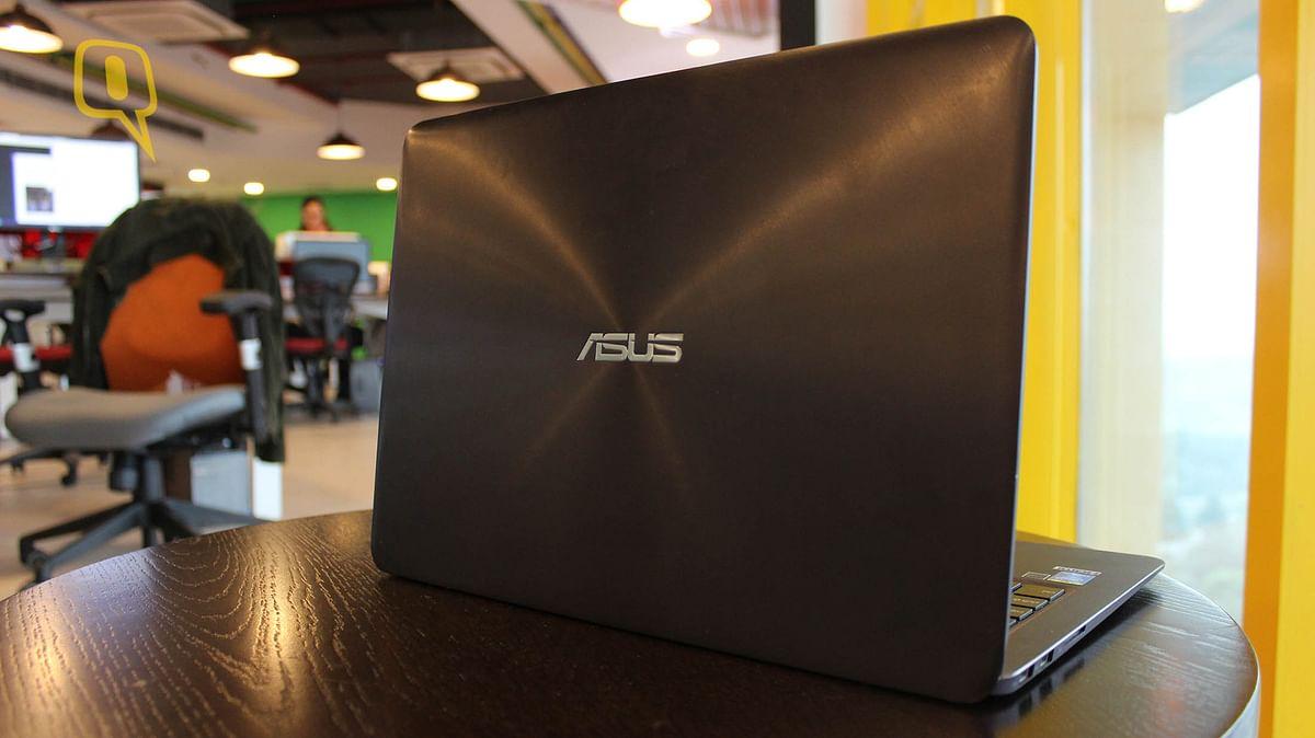 Asus ZenBook UX305. (Photo: <b>The Quint</b>)