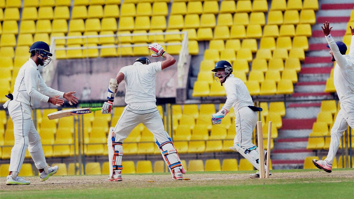 The seventh round of Ranji matches of this season just concluded earlier this week. (Photo: PTI)