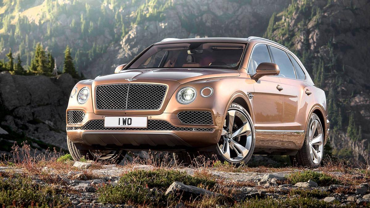 The Bentley Bentayga. (Photo: Bentley)