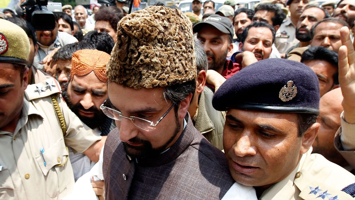 Chairman of the Hurriyat Conference Mirwaiz Umar Farooq. (Photo: Reuters)