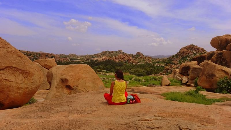 Hampi's giant boulders. (Photo Courtesy: Sonal Kwatra Paladini/Drifter Planet)