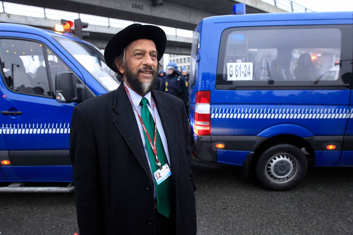 RK Pachauri, the TERI chief accused of sexually harassing a woman researcher. (Photo Reuters)