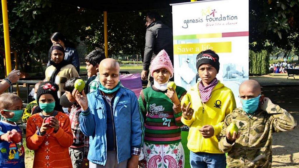 Shining stars of Genesis Foundation. (Photo Courtesy: Genesis Foundation)