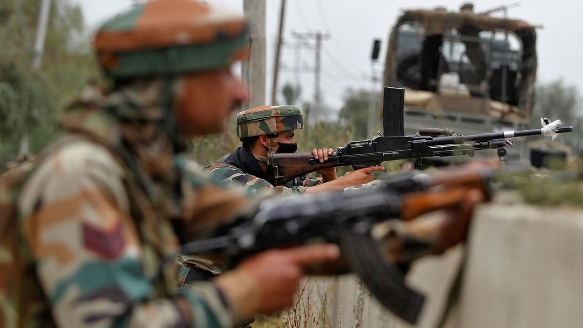 Indian Army soldiers during an operation in Jammu & Kashmir. (Photo: Reuters)