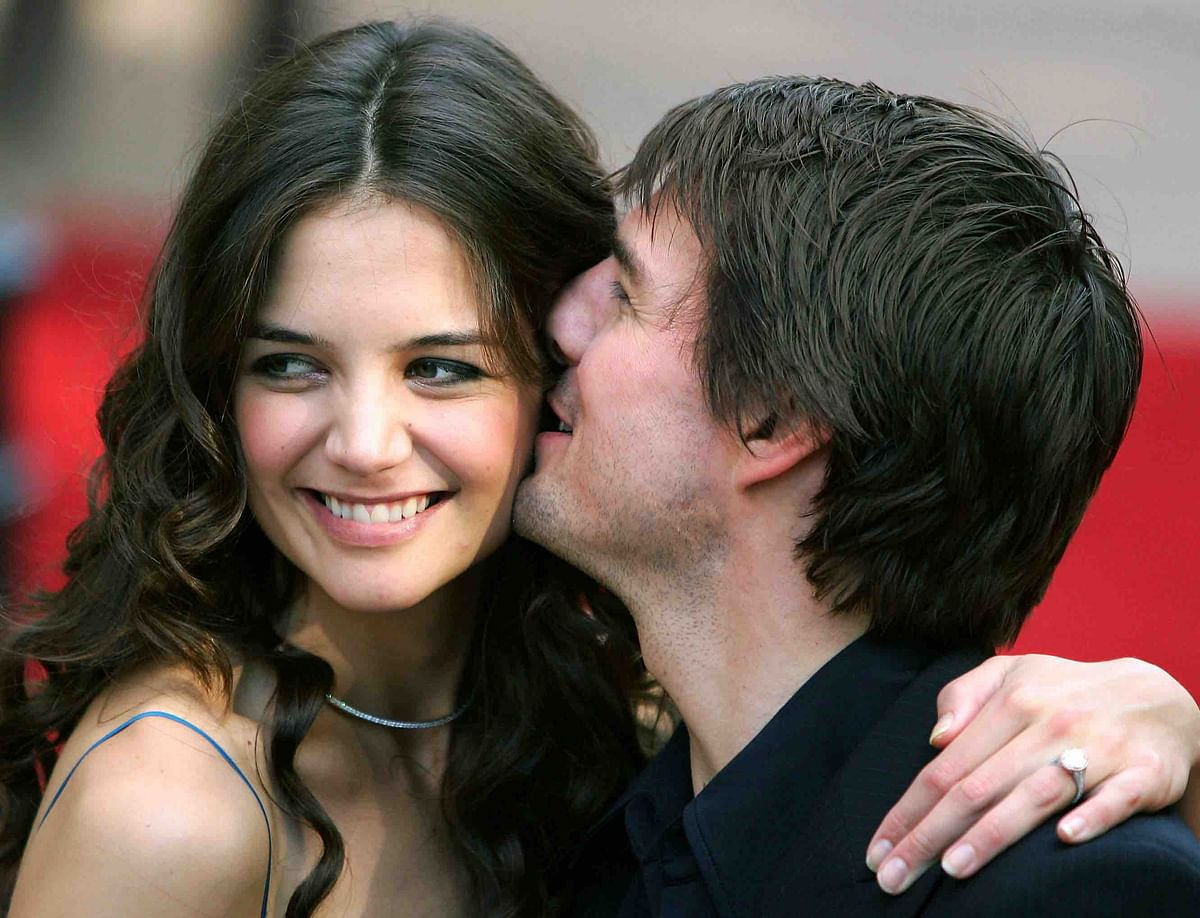 One of the most talked about couples in the world: Tom Cruise and Katie Holmes (Photo: Reuters)