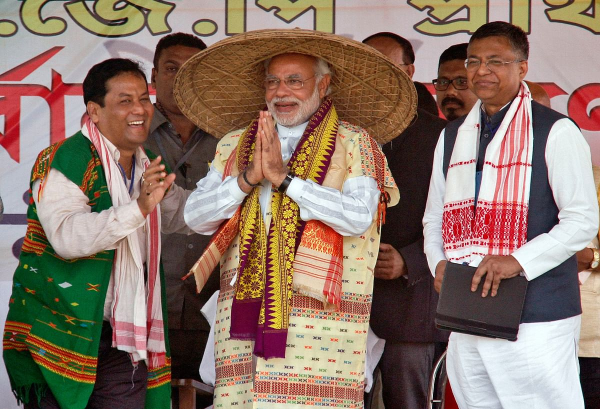 Assam remains Modi's only hope in the East, as the BJP is unable to make a dent in the other northeastern states.(Photo: Reuters)