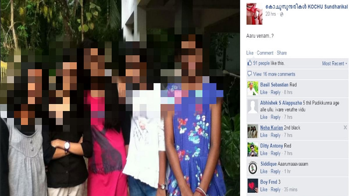 Kerala police have arrested five people in connection with a paedophilic Facebook page after tracking their online activities for over a month. (Photo Courtesy: The News Minute)