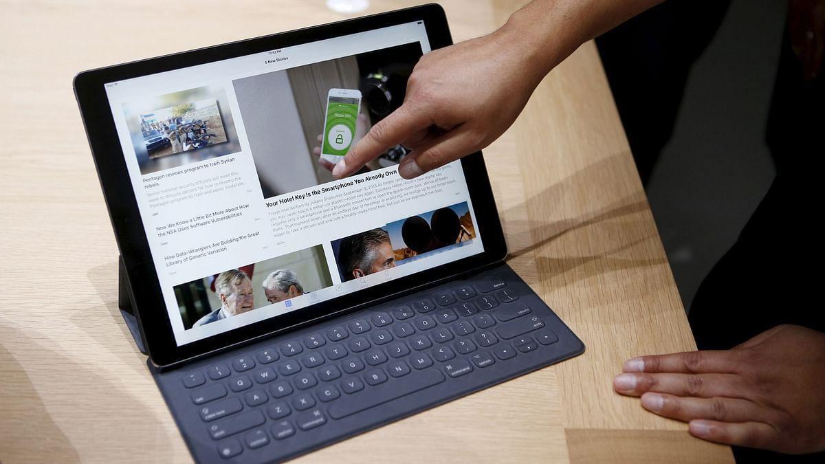 Apple iPad Pro. (Photo: Reuters)