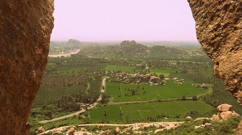 Stunning View from Anjaneya Hill, Hampi by Drifter Planet. (Photo Courtesy: Sonal Kwatra Paladini/Drifter Planet)