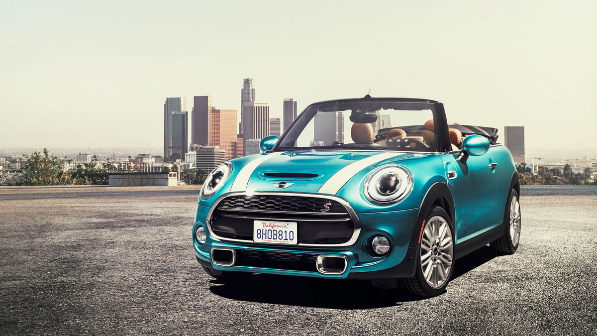 The New MINI Convertible. (Photo: MINI)