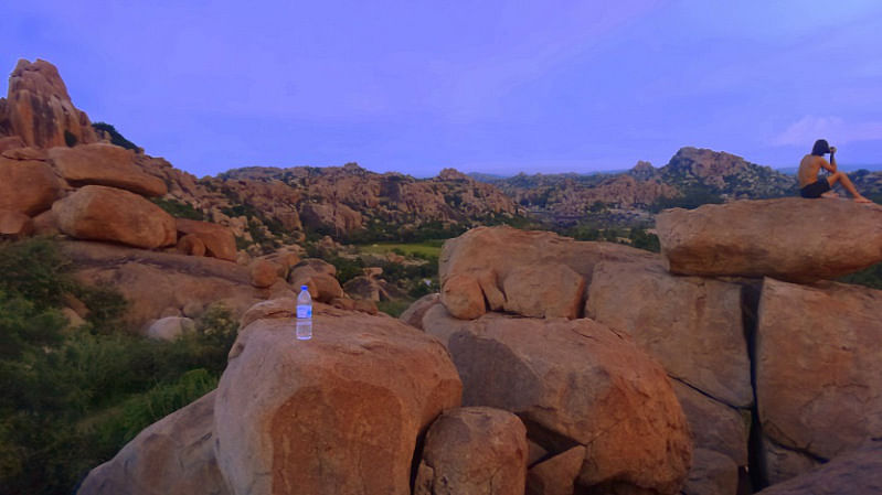 View from Sunset Point, Hippie Island in Hampi. (Photo Courtesy: Sonal Kwatra Paladini/Drifter Planet)
